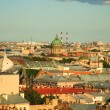 Bird's eye view of Saint-Petersburg — Stock Photo