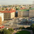 St Isaac's Square in St.Petersburg — Foto Stock