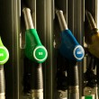 Different types of fuel dispensers — Stock Photo #1077081