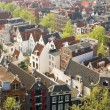 Stock Photo: Bird view of central Amsterdam
