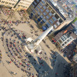 Bird's-eye view of Dam square — Stock Photo #1077699