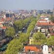 Stock Photo: Bird view of Amsterdam