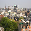Bird view of Amsterdam — Stock Photo