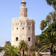 Torre del Oro (Gold Tower) in Seville — Stock Photo