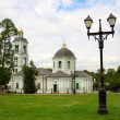 Orthodox church in Tsaritsino park - Stock Photo