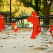 Children's playground — Stock Photo