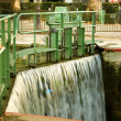 Water lock on the Saint-Martin canal — Stock Photo