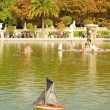 Luxembourg Garden of Paris — Stockfoto