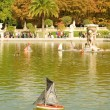 Luxembourg Garden of Paris — Stock Photo