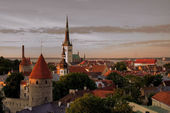 Old town of Tallinn — Foto de Stock