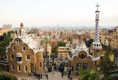 Park Guell in Barcelona (Spain) — Stock Photo