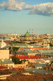 Bird's eye view of Saint-Petersburg — Stockfoto