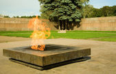 Eternal flame on the Field of Mars — Stock Photo