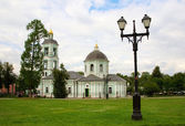 Orthodox church in Tsaritsino park — Stock Photo