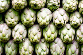 Artichokes background — Stock Photo
