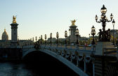 Pont Alexandre III in Paris, France — Stock Photo