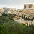 Foto de Stock  : View of Akropolis in Athens