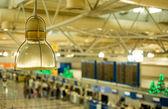 Vista del aeropuerto internacional de atenas — Foto de Stock