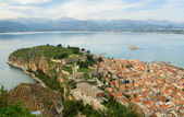 Bird eye view of Nafplion — Foto de Stock
