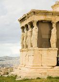 Caryatid Porch at Akropolis — Stock Photo