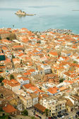 Bird eye view of Nafplion center — Foto de Stock