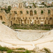 Stock Photo: View of Herodes Atticus theatre