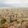 Panoramic bird view of Athens — Stock Photo