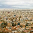 Panoramic bird view of Athens - Stock Photo