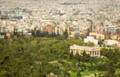 View of Ancient Agora from the Akropolis — Stock Photo