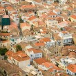 Bird view of central Nafplion — Stock Photo #1604834