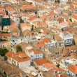 Stock Photo: Bird view of central Nafplion