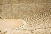 Ancient theater in Epidaurus, Greece — Foto de Stock