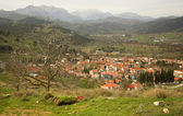 Greek mountain village of Kalavryta — Stock Photo