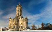 Iglesia en dubrovitsy — Foto de Stock