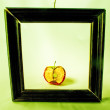 Royalty-Free Stock Photo: Apple in the frame.