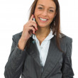 Stock Photo: Business woman calling