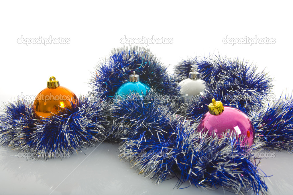Christmas decoration isolated On White — Stock Photo #1165855