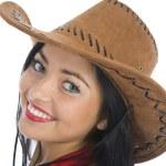 Sexy cowboy — Stock Photo