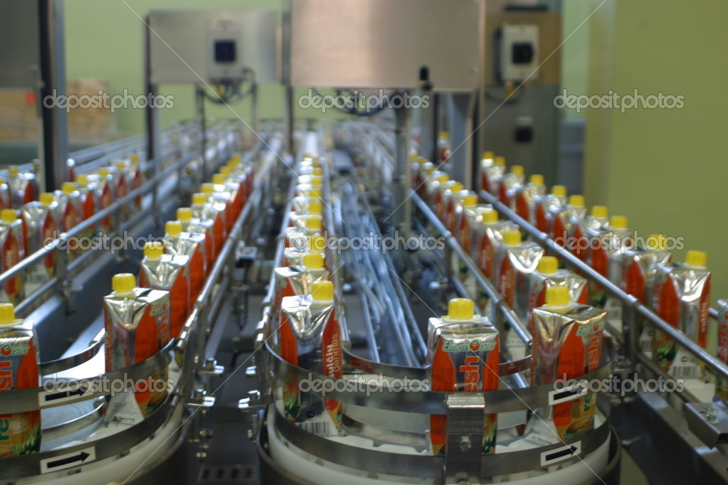 Production  wine, juice and drink, plant factory — Stock Photo #1262938
