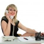 Business woman calling — Stock Photo #1295014