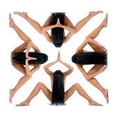 Nude girl — Stock Photo