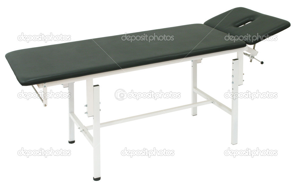 Medical Bed on a white background — Stock Photo #1351182
