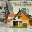 Stock Photo: Real Estate concept on big dollar