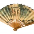 Stock Photo: Chinese fan on a white background