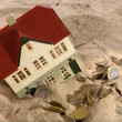 Real Estate - Financial Crisis — Stock Photo