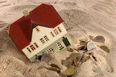 Real Estate - Financial Crisis — Stock Photo