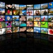 Television production technology — Foto Stock