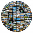 Television and internet technology — Stock Photo #1447284