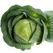 Cabbage isolated on white — Foto de Stock