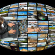 Television and internet technology — Stock Photo #1461889